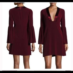 Dress - deep V cocktail
